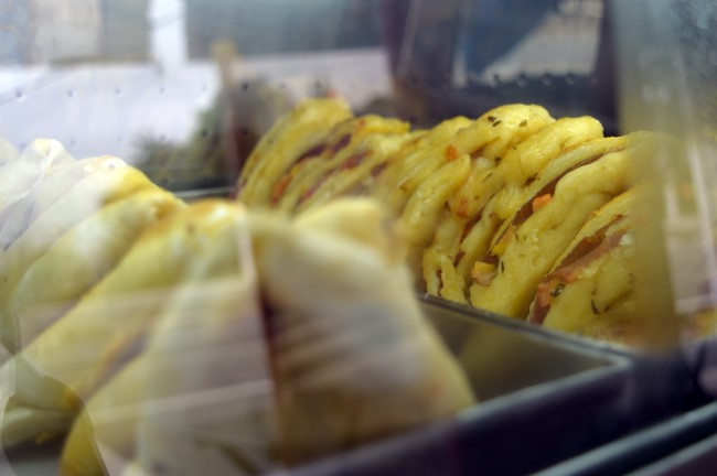 Snacks at a lanchonete