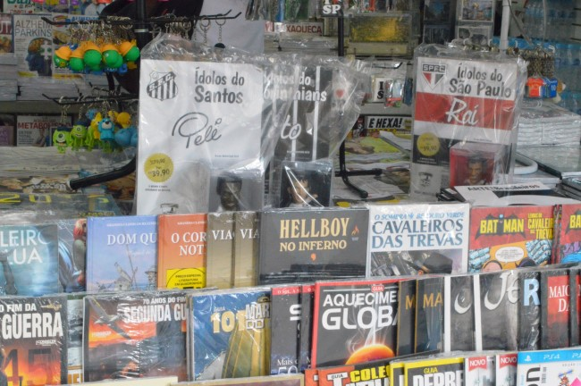 Newsstand on Paulista
