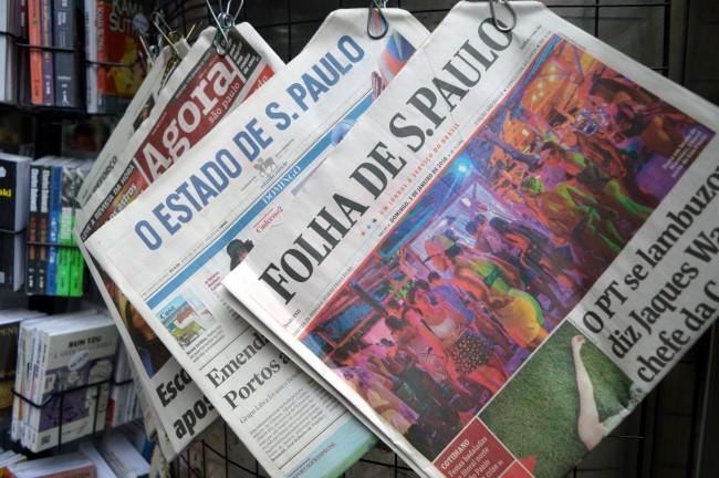 Newsstand on Paulista