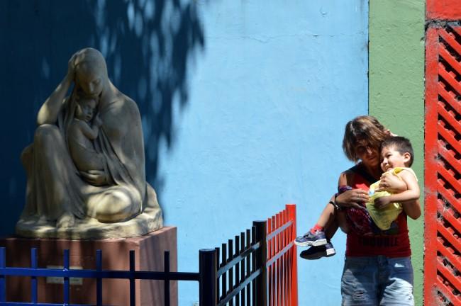 The Caminito in La Boca