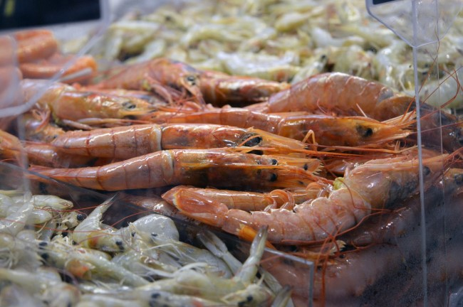 Seafood at the Mercado Público de Florianópolis