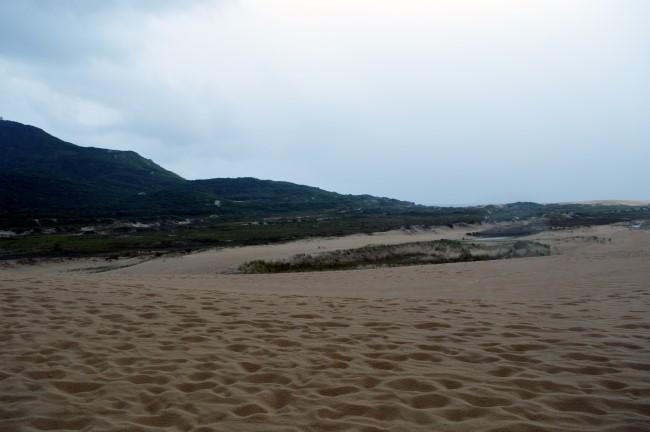 Praia dos Ingleses under the rain