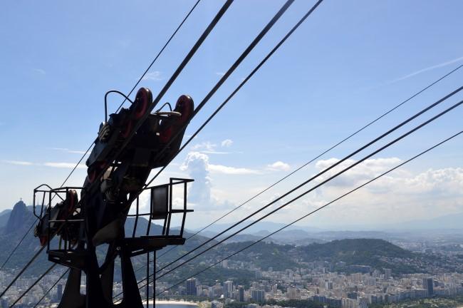 Up the the Pão de Açúcar