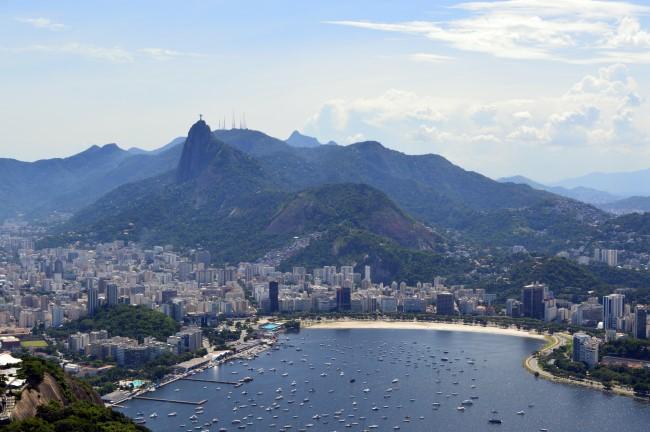Botafogo from the Pão de Açúcar