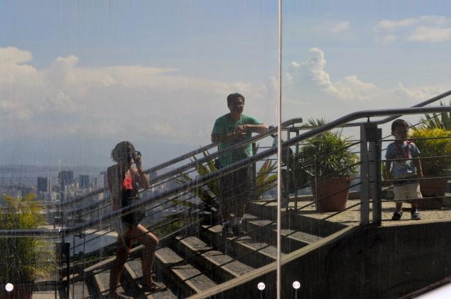 At the top of the Pão de Açúcar