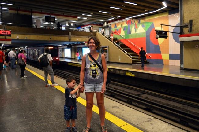 Santiago subway
