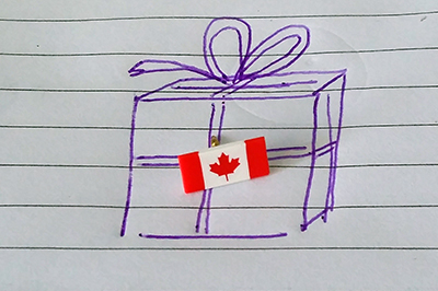 Gifts from Canada
