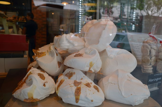 Meringues at the bakery