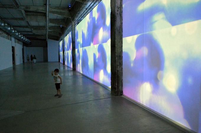 """""""La mer allée avec le soleil"""" by Ange Leccia at the HAB Galerie"""