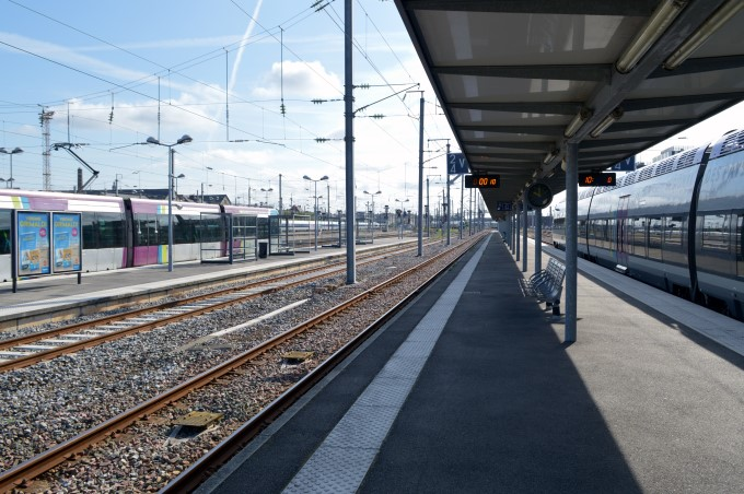 Nantes' train station
