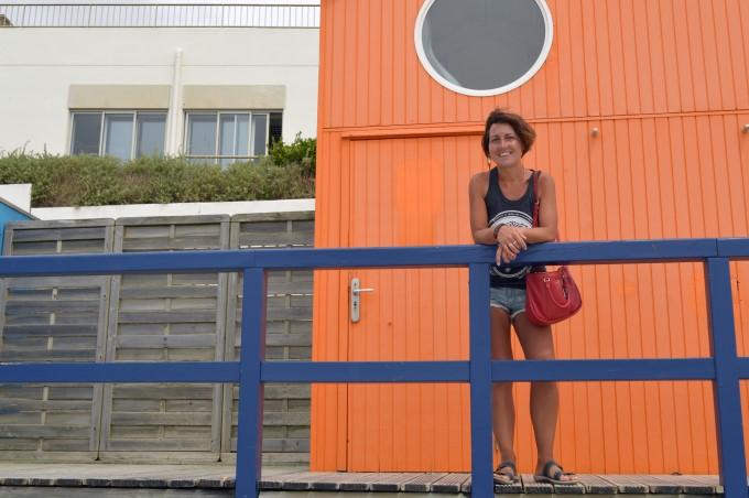 Along the grande plage in Saint-Gilles-Croix-de-Vie