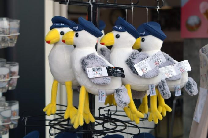 Seagulls souvenir key chains