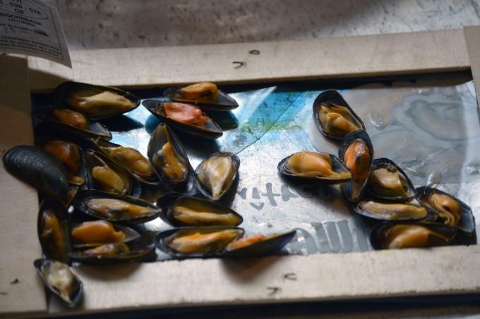 Mussels at Talensac Market