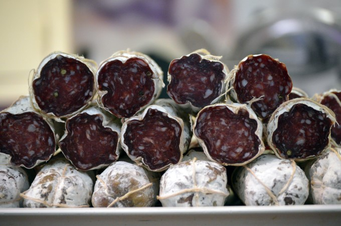 Salami at Talensac Market