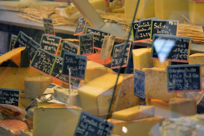 Cheese at Talensac Market