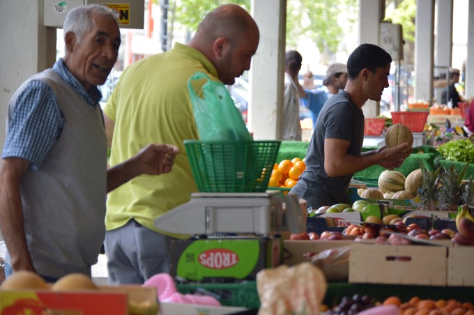Sunday Market at Talensac