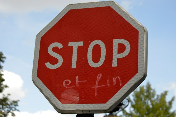 """Stop and end"""
