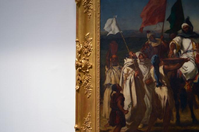 Eugène DELACROIX, Le Kaïd, Chef marocain, 1837