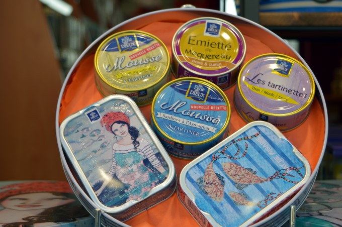 Sardines and canned fish