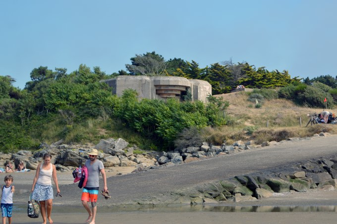 Old WW2 bunker on the beach
