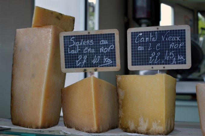 Cheese at Tharon's Market
