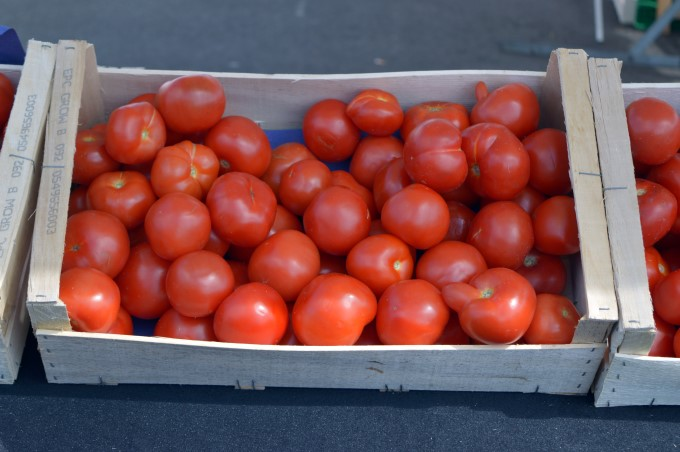 Tomatoes at Tharon's Market