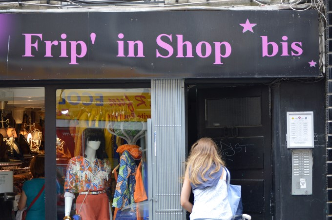 Frip' in Shop, meaningless Franglish