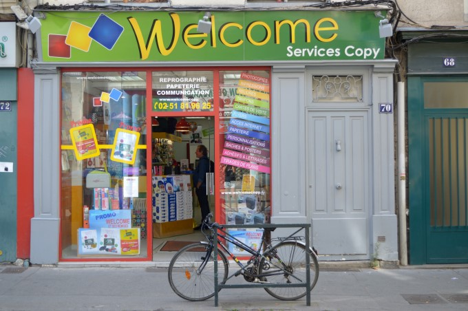 Welcome Service Copy, not sure why this is in English