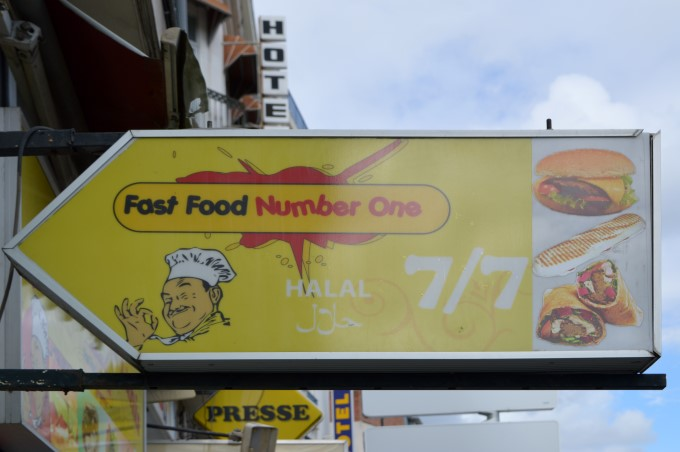 """Fast food number one"""
