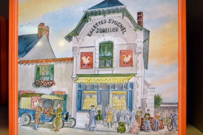 Painting of the original store