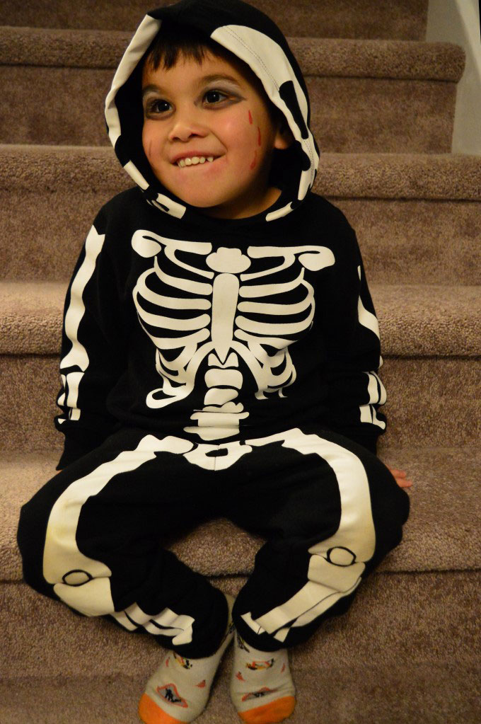 Mark as a skeleton