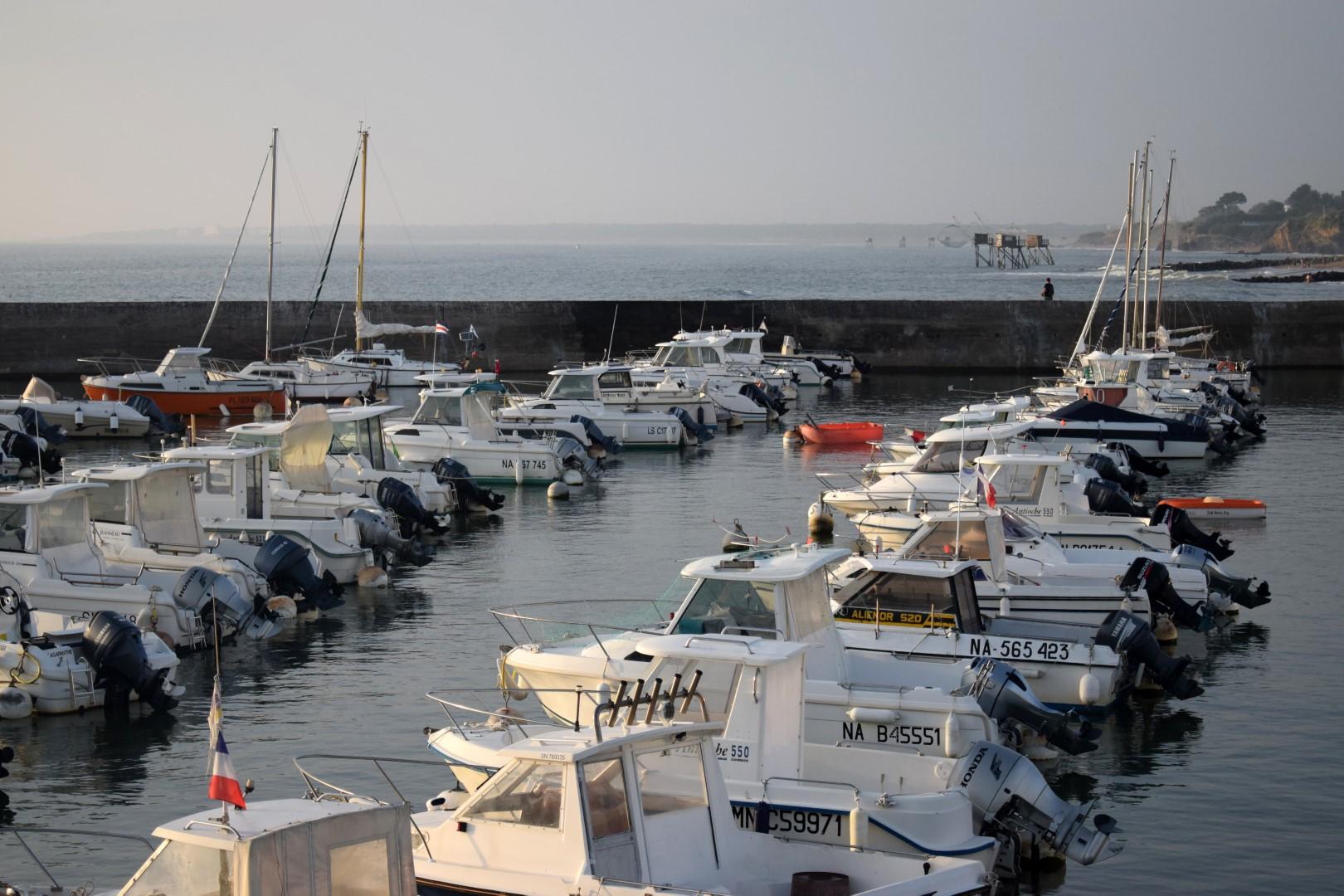 Saint-Michel harbour