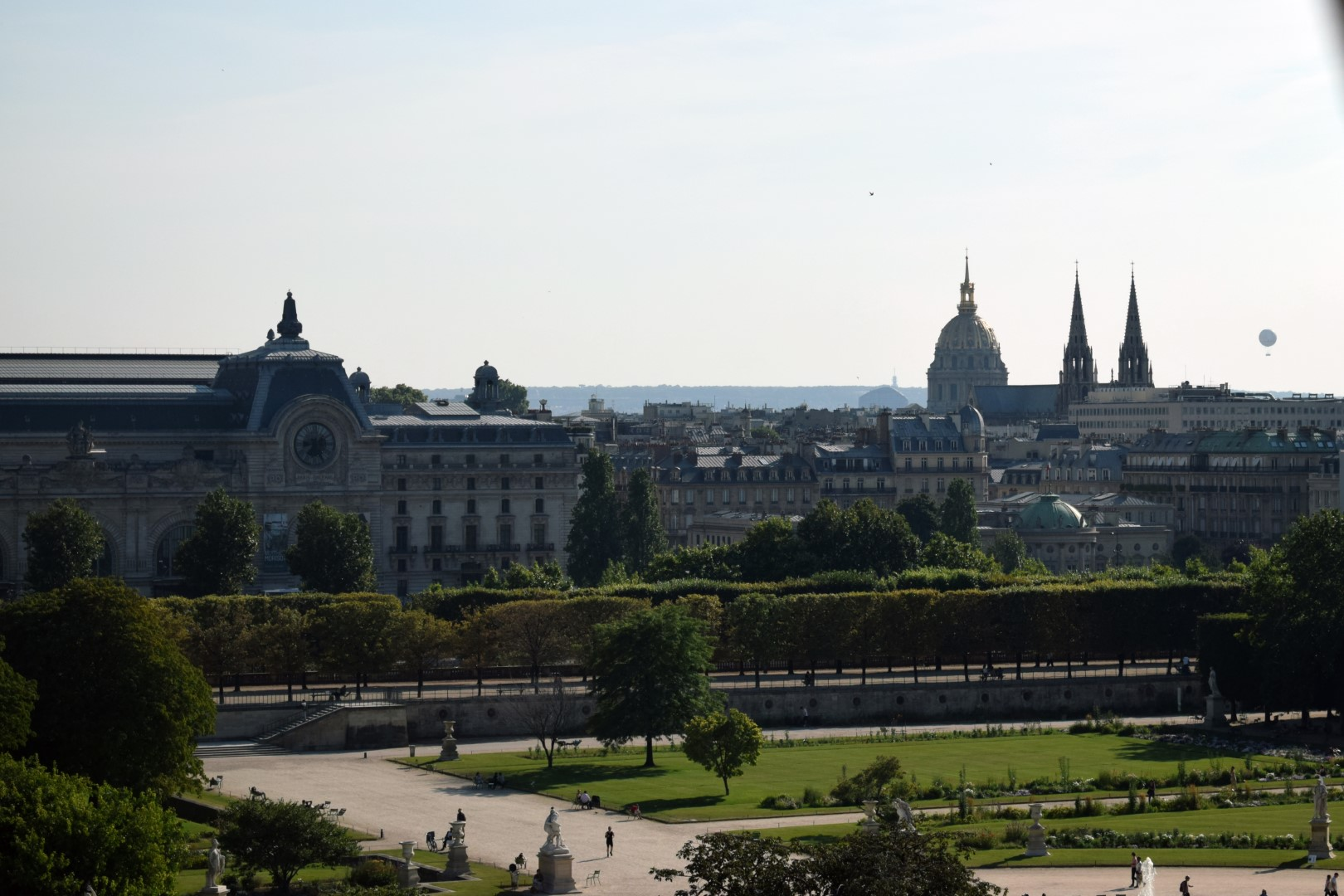 Grande Roue de la Concorde, Tuileries