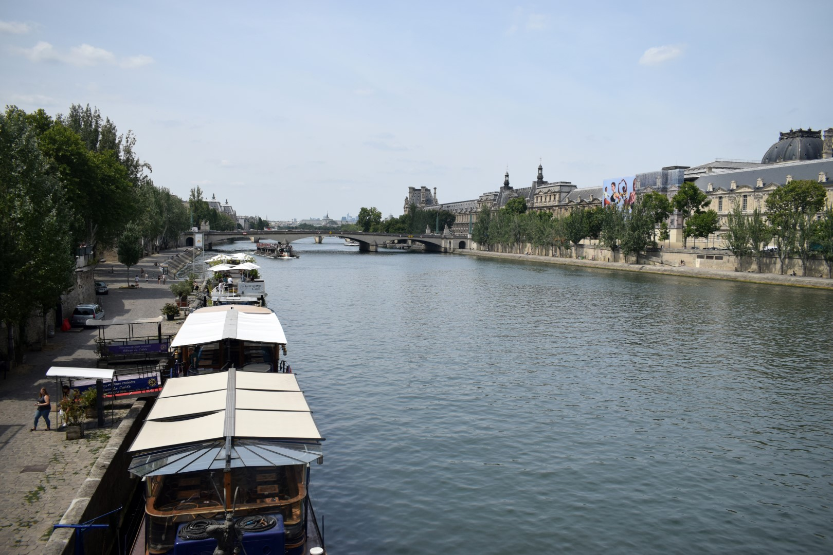 Seine River from Pont des Arts, Paris