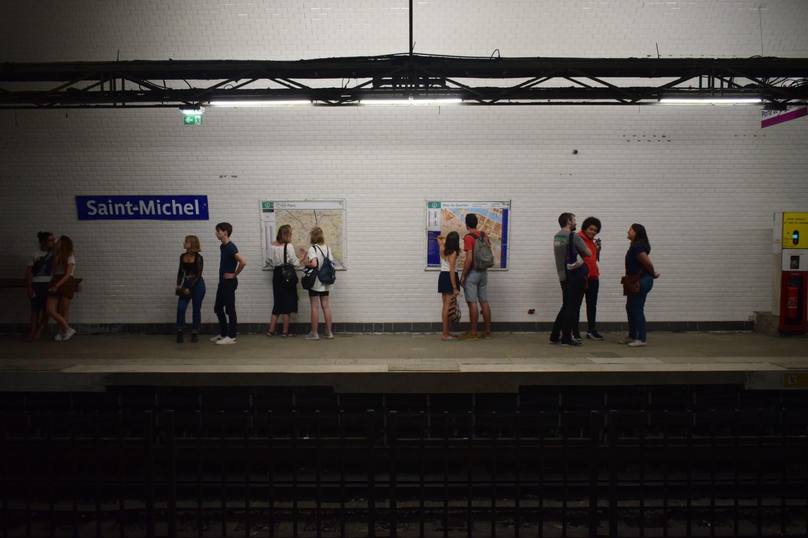 Station Saint-Michel, Paris