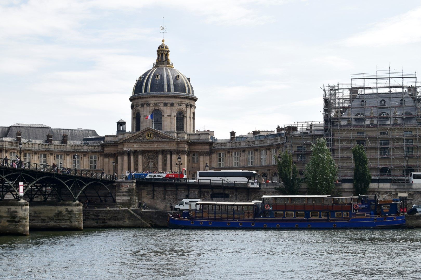 Along the Seine River, Paris