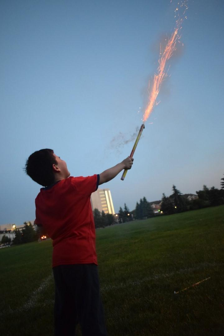 Canada Day fireworks, June 30 2019, Ottawa