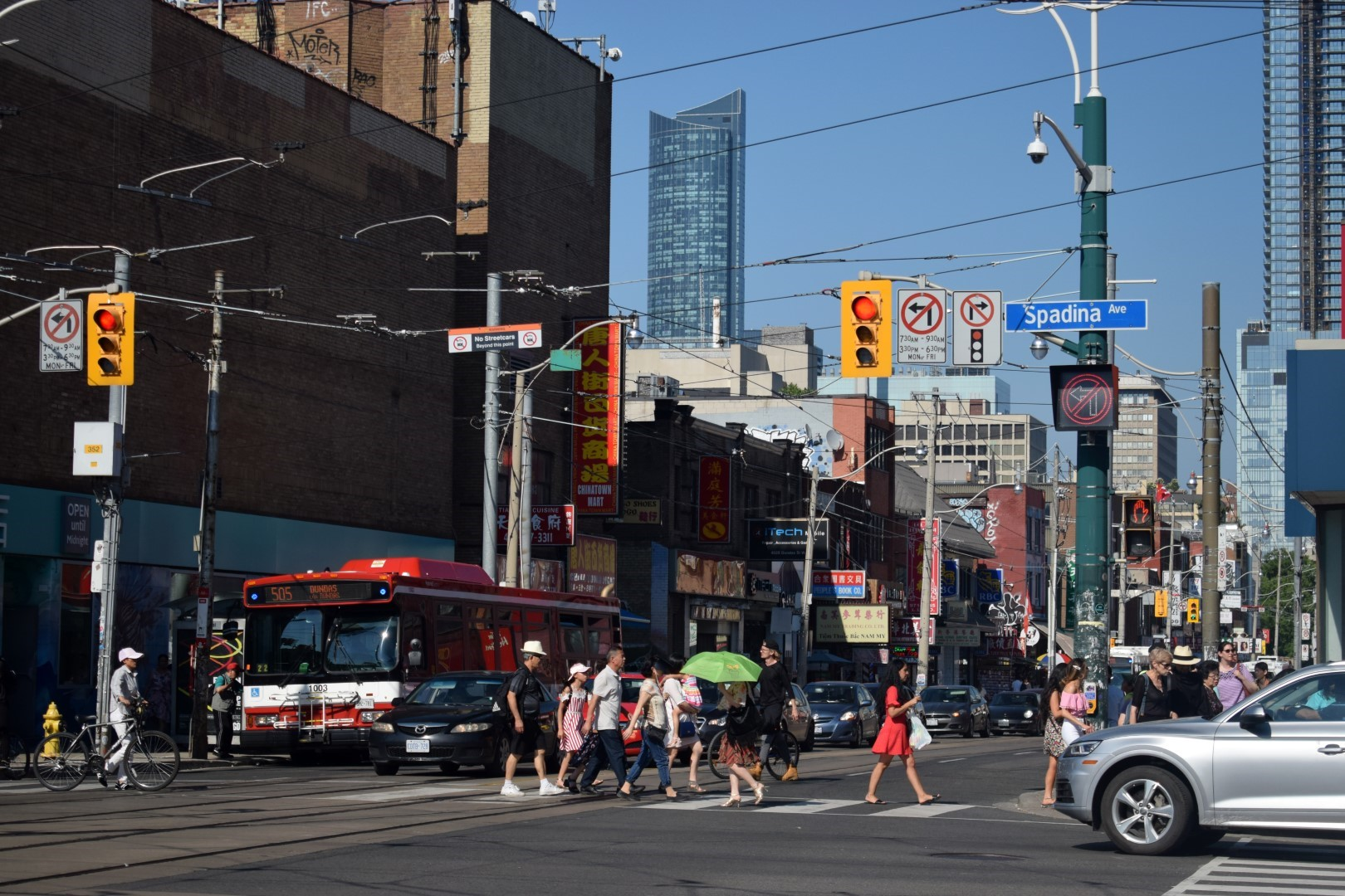 Spadina and Dundas, Chinatown, Toronto