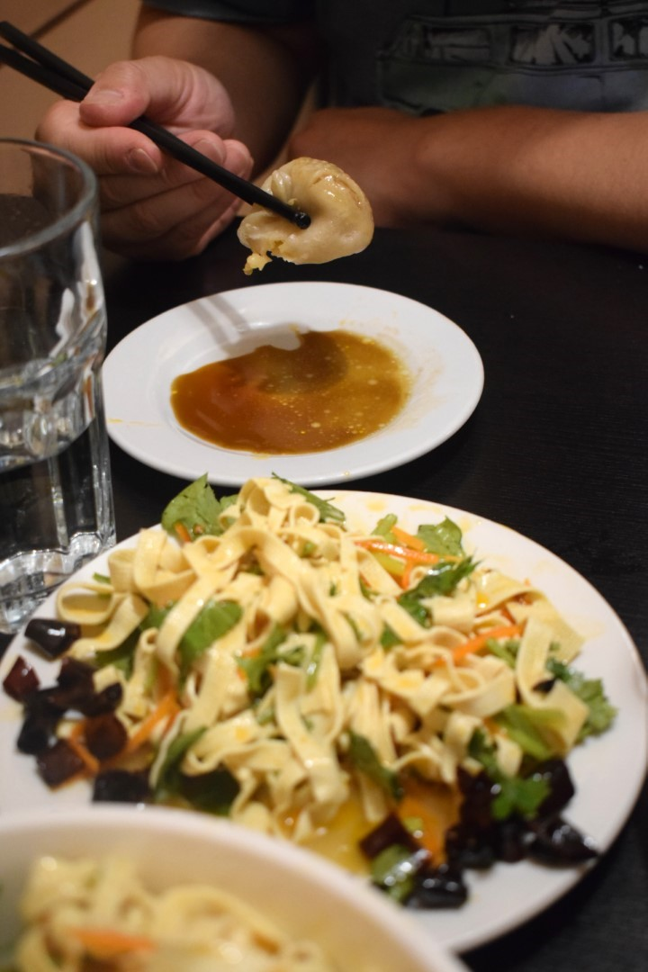 Bean curds salad, Yummy Yummy Dumplings, 79 Huron St, Toronto