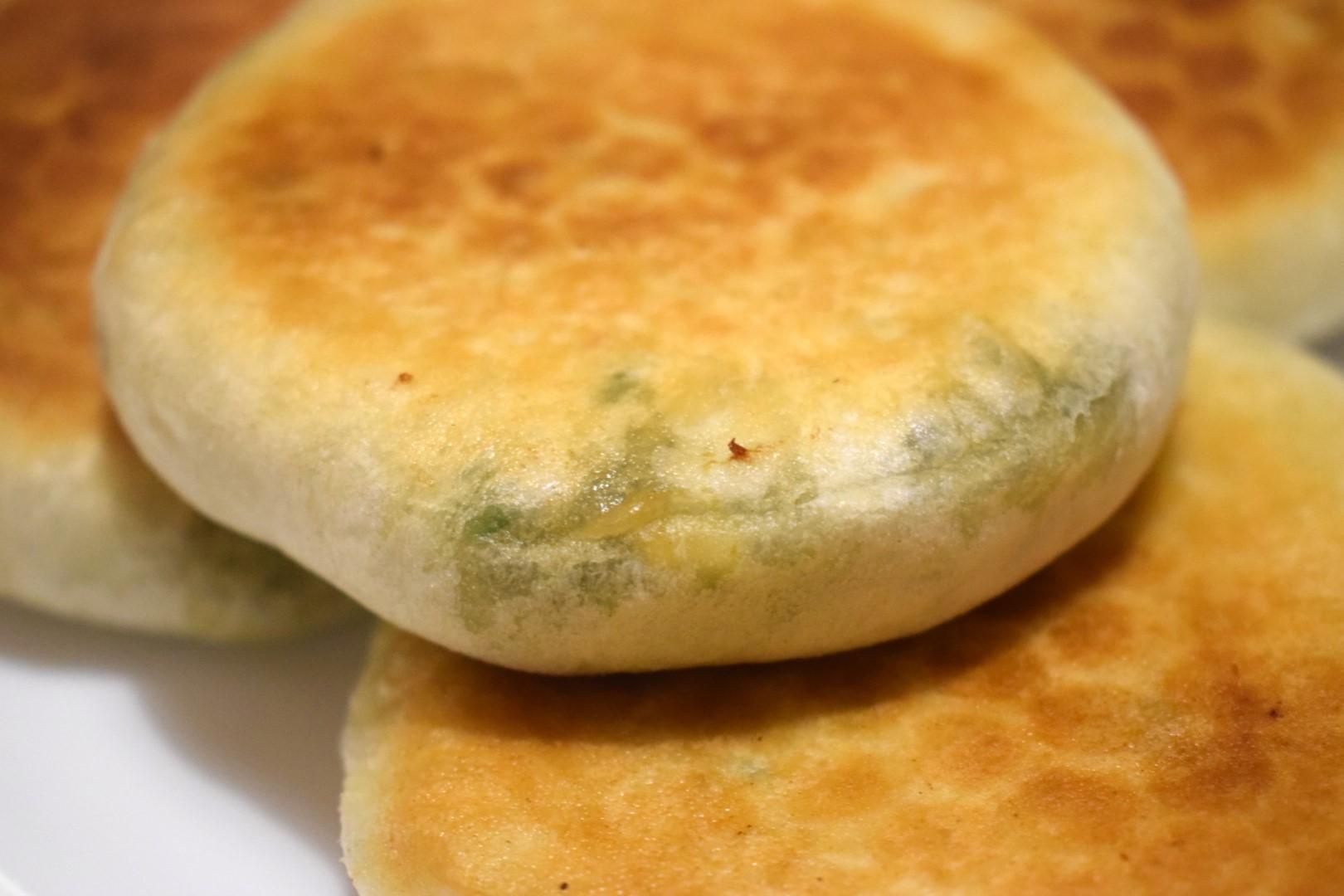 Chives and eggs pancakes (韭菜鸡蛋饼)Yummy Yummy Dumplings, 79 Huron St, Toronto