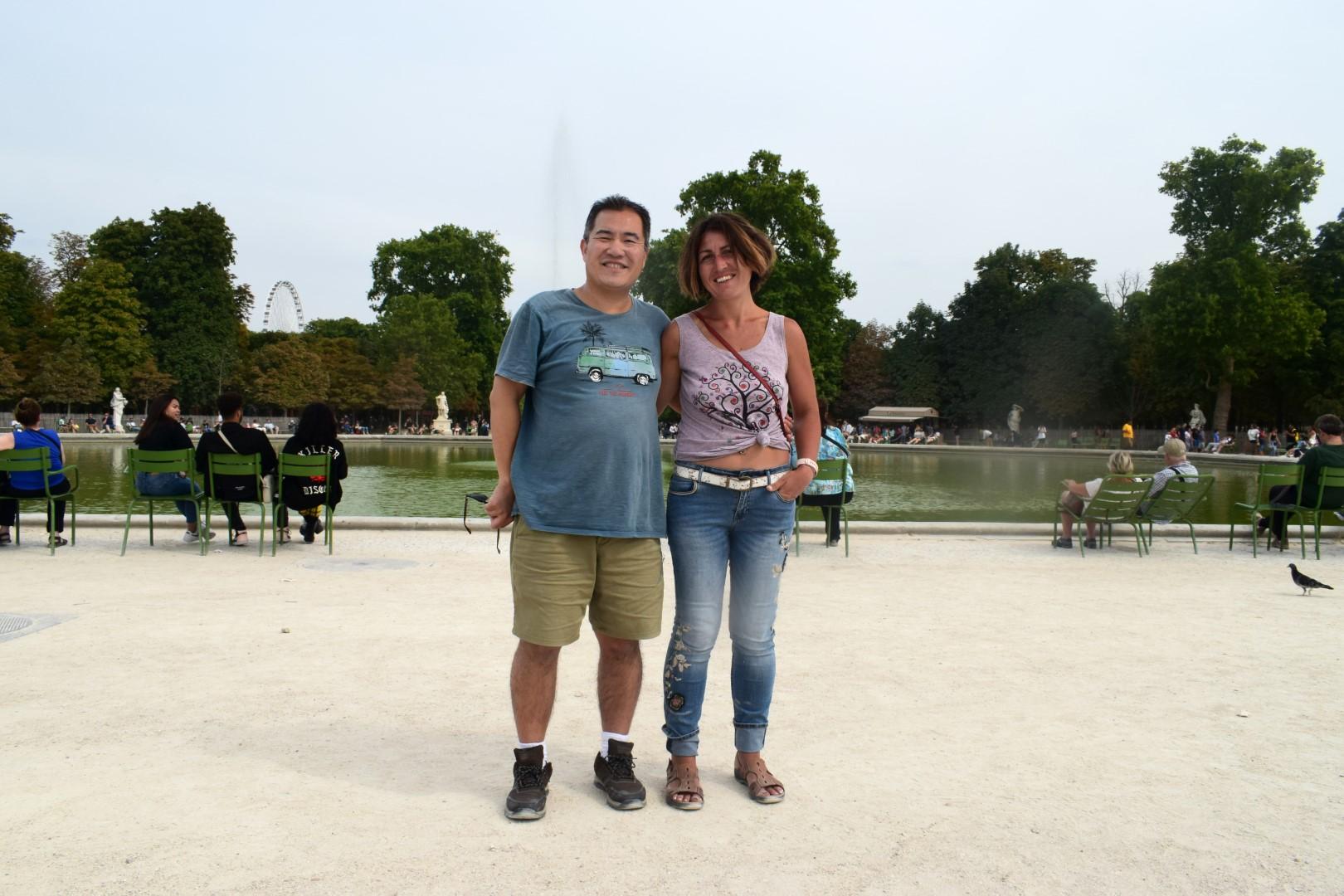 Bassin octogonal, Jardin des Tuileries, Paris