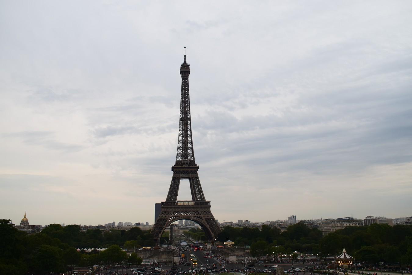 Esplanade du Trocadéro, Paris