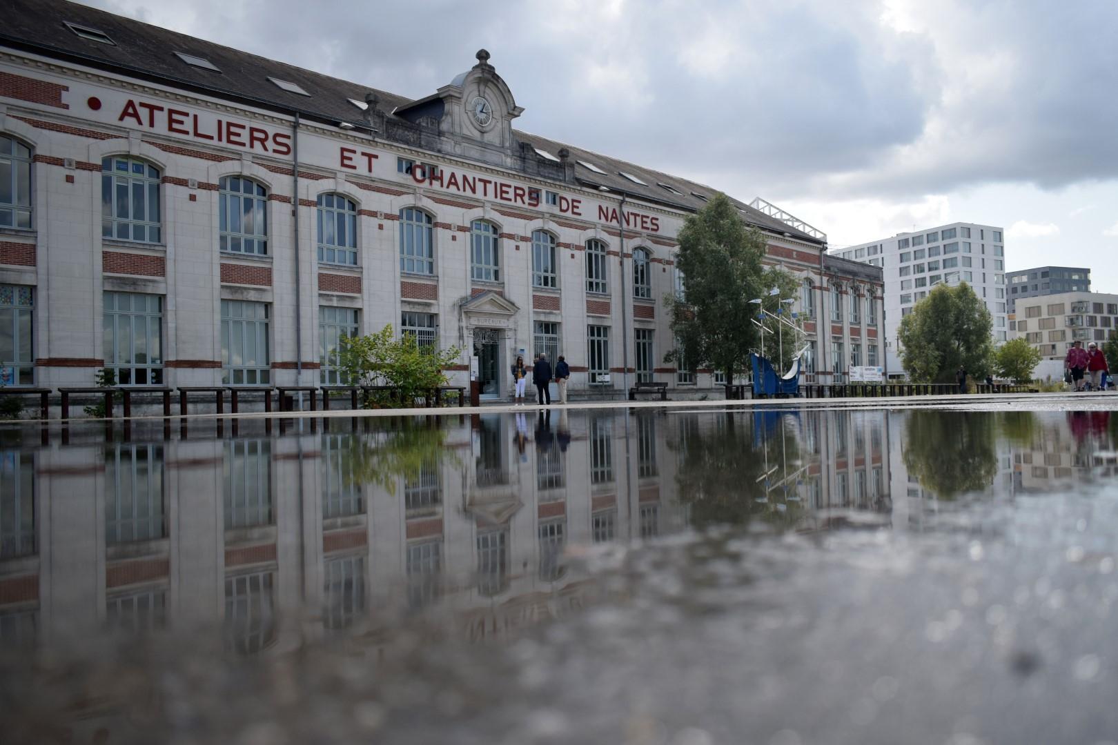 Bâtiment Ateliers et Chantiers de Nantes, boulevard Léon Bureau