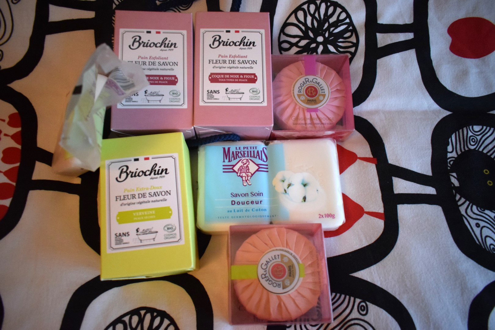 French soap: Le Petit Marseillais, Briochin and Roger & Gallet