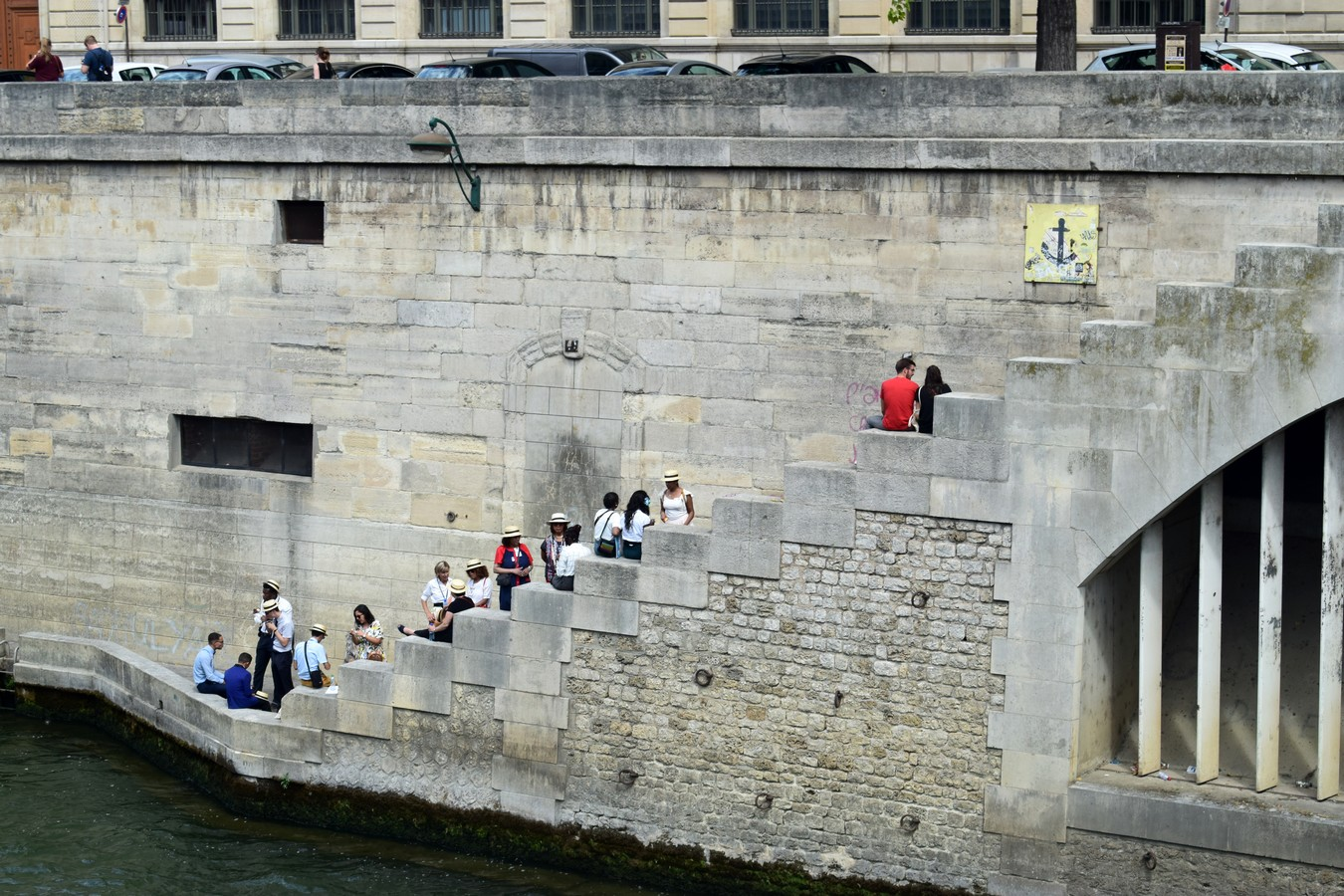 Pont des coeurs, Paris
