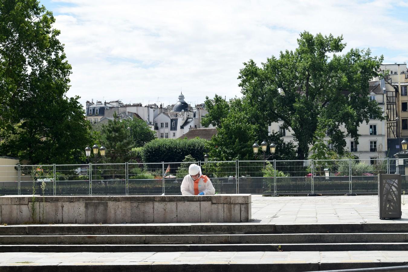 Parvis Notre-Dame - Pl. Jean-Paul II, Paris