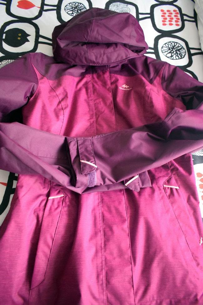 Quechua rain jacket