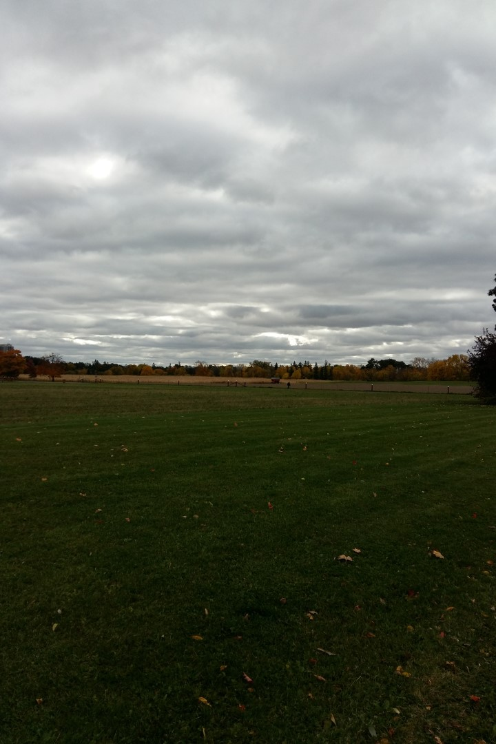 Clouds over the Experimental Farm, Ottawa