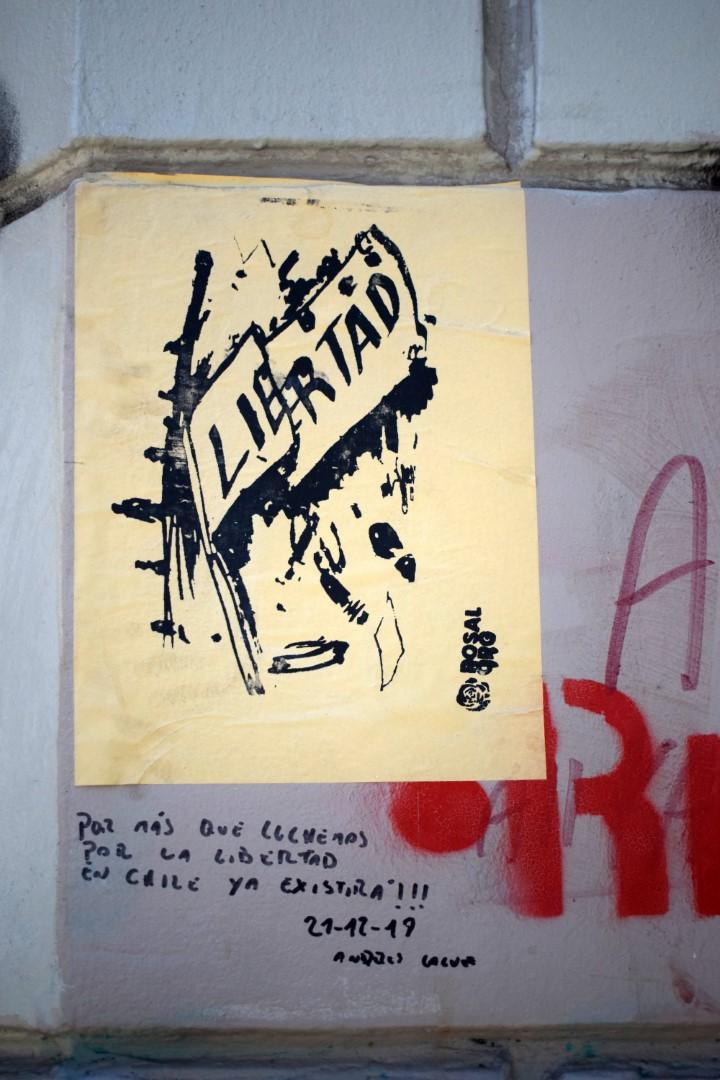 "Santa Lucía, Santiago, ""Freedom"""
