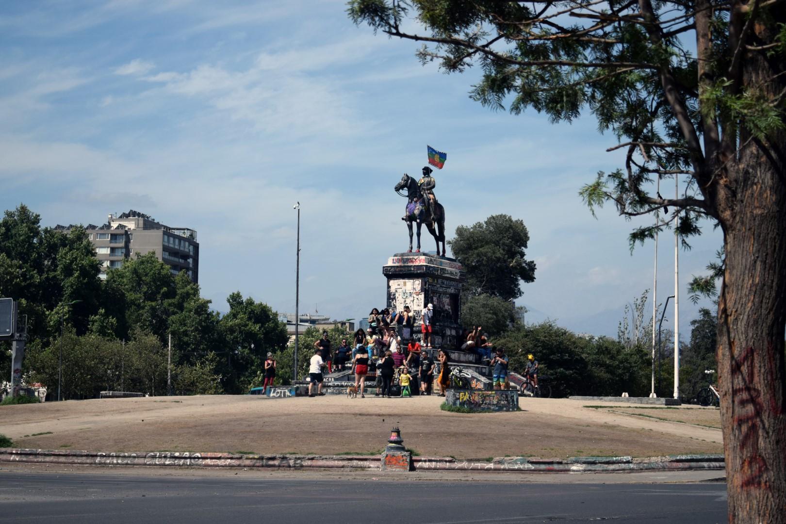 Plaza Italia, Santiago